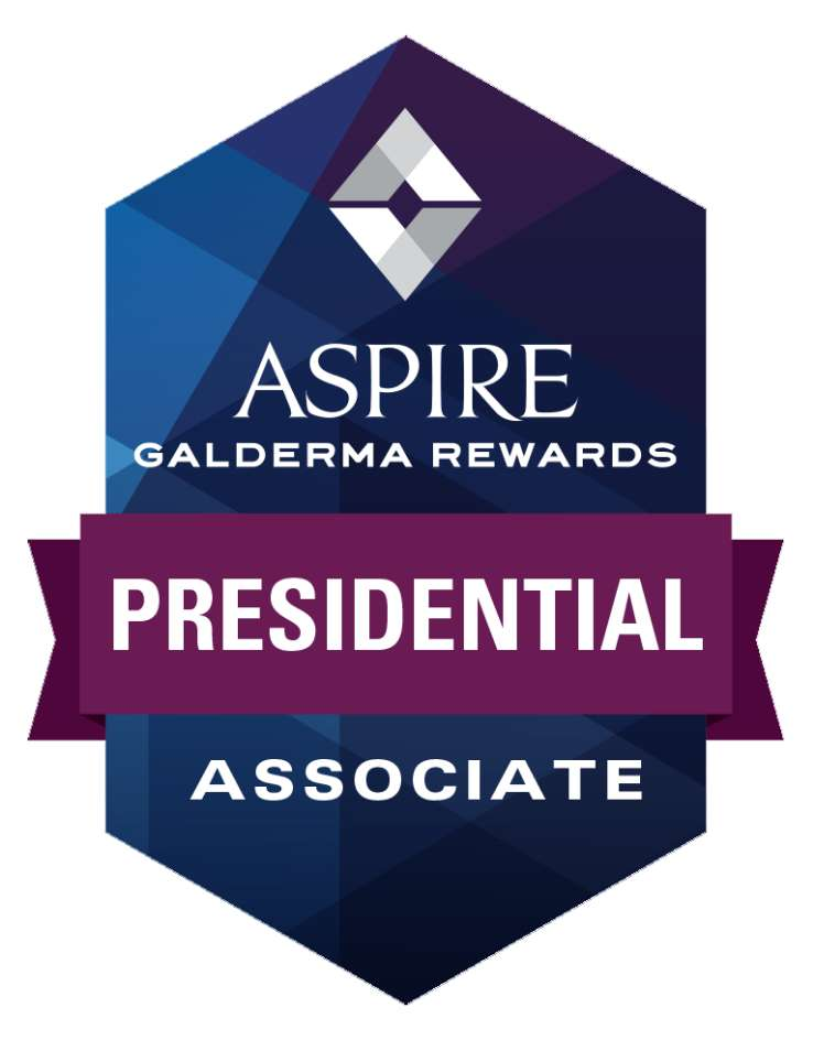 Aspire Galderma Awards Presidential Associate Logo