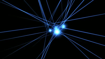 stock-footage-electric-blue-laser-beams